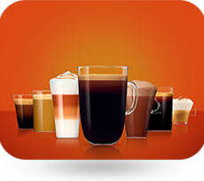 A Variety of Coffee & Drinks